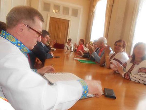У Верховній Раді України відбувся круглий стіл за участю інвалідів і депутатів